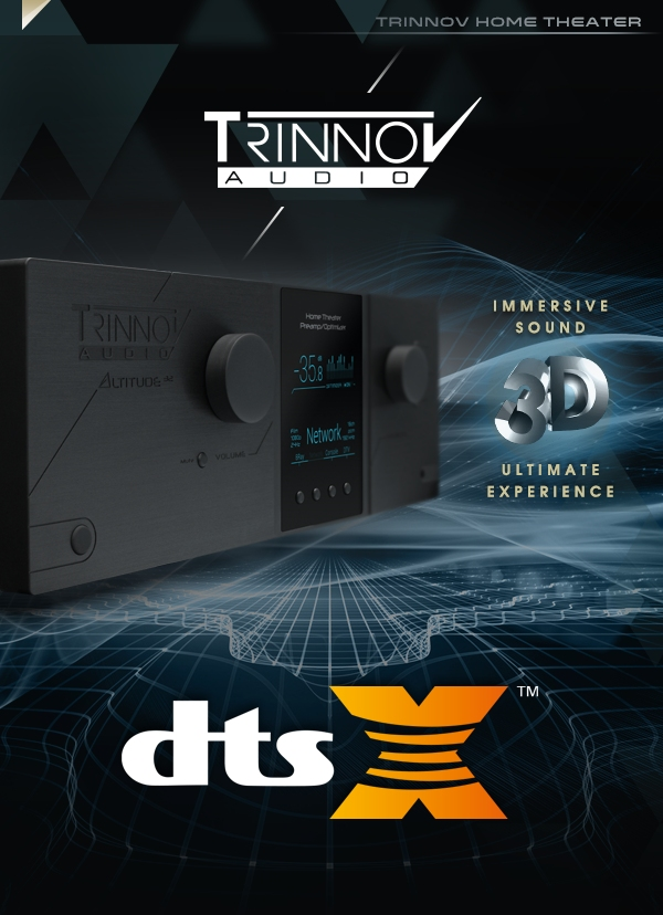 Trinnov Altitude32 adds DTS:X – NSHT
